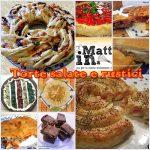 Torte salate e rustici,  quante belle idee…