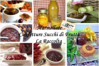 Marmellate confetture succhi di frutta Collage