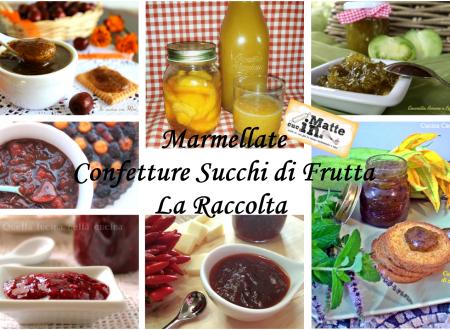Marmellate confetture succhi di frutta