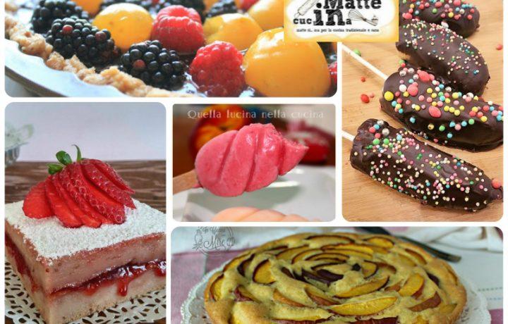 Ricette estive – dolci alla frutta