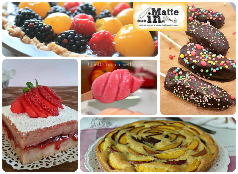 Ricette estive dolci alla frutta