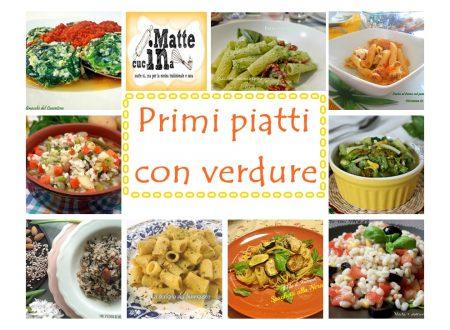 Primi piatti con verdure