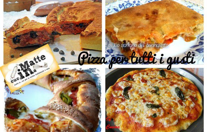 Pizza per tutti i gusti