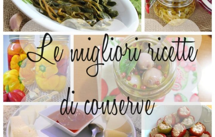 Conserve – raccolta ricette