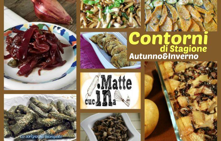 Ricette contorni di stagione – autunno e inverno