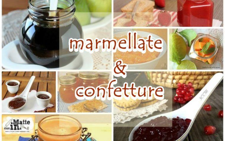 Ricette Confetture e marmellate