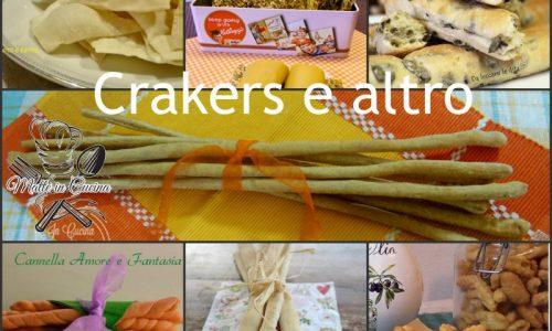 Crackers e altro per accompagnare i piatti di festa