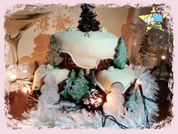 Lezioni di Cake Design – Torte decorate per le feste natalizie