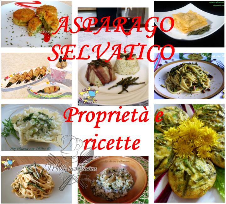 Asparago selvatico proprietà e ricette