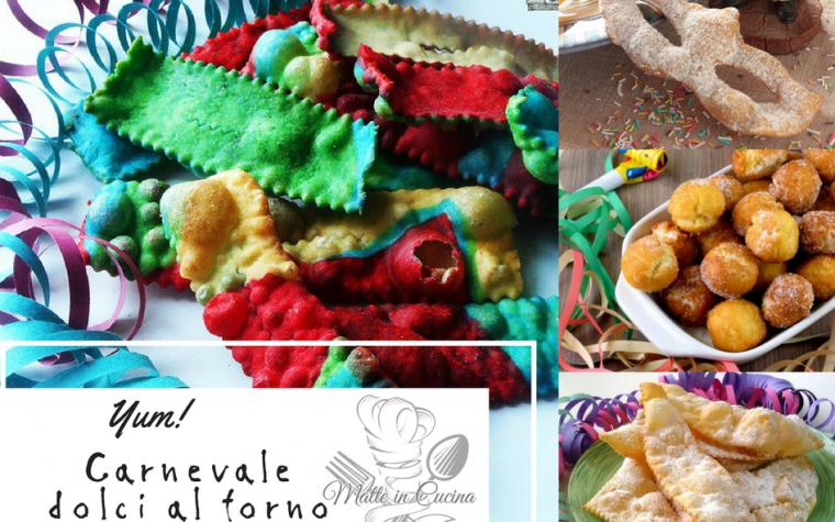 Carnevale dolci al forno e fritti