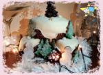 Lezioni di Cake Design - Torte decorate per le feste natalizie
