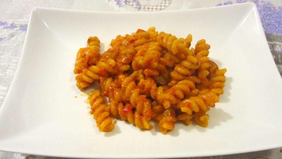 Pasta Pomodoro e Pesto