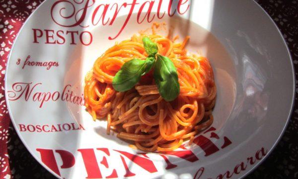 Pasta Gorgonzola e Pomodoro