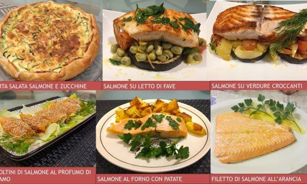 6 Ricette per Natale con Salmone