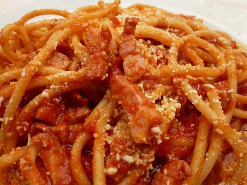 Ricetta Amatriciana Max.Bucatini All Amatriciana Max In Cucina