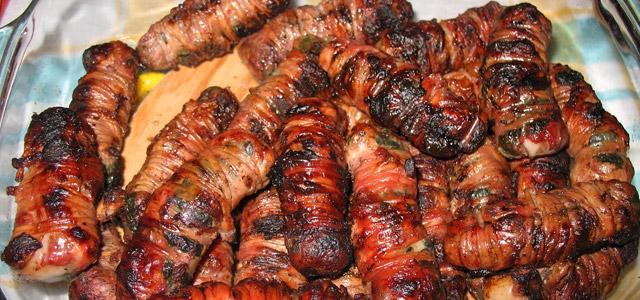 I gnummareddi  è un piatto a base di carne molto diffuso nel Salento