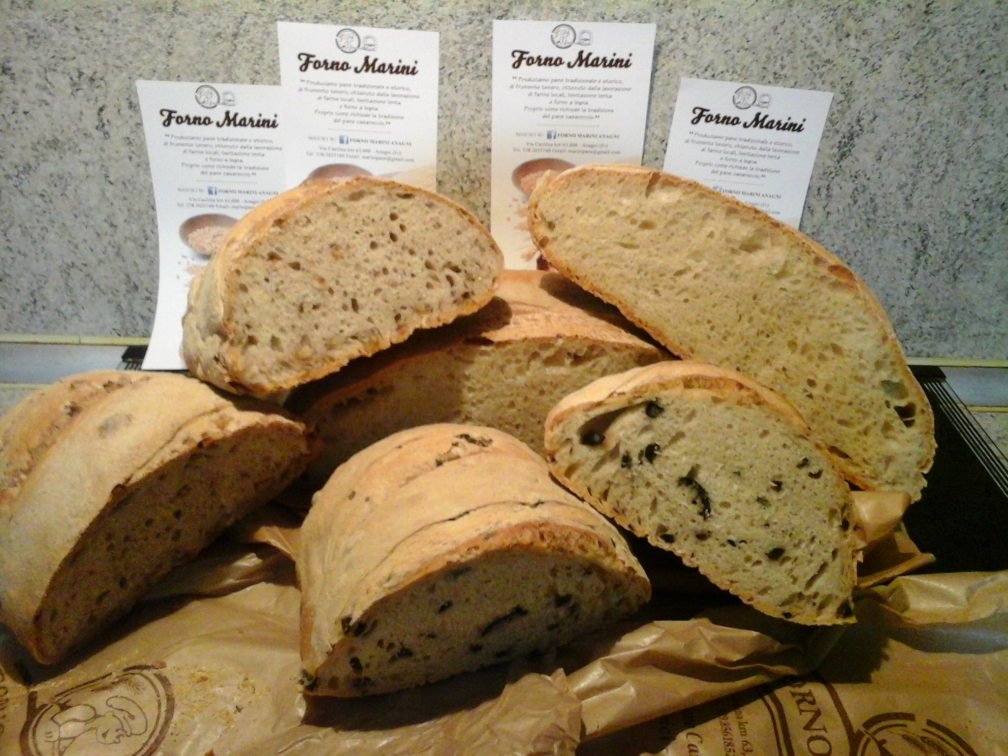 Forno marini il pane casereccio della ciociaria - Forno a legna in casa ...