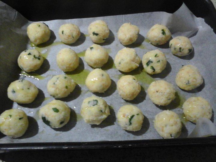Polpette di patate e cavolfiore