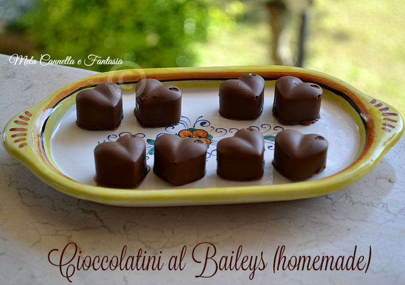 Cioccolatini al Baileys