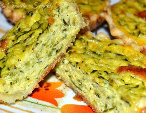 Quiche light zucchine senza panna – ricetta veloce