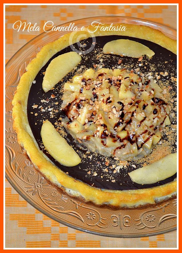 cheesecake con crema