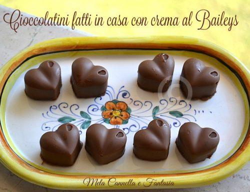 Cioccolatini al Baileys (homemade)