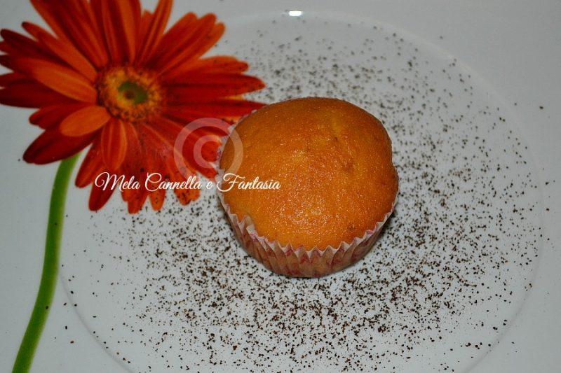 Muffins aromatizzati al caffè