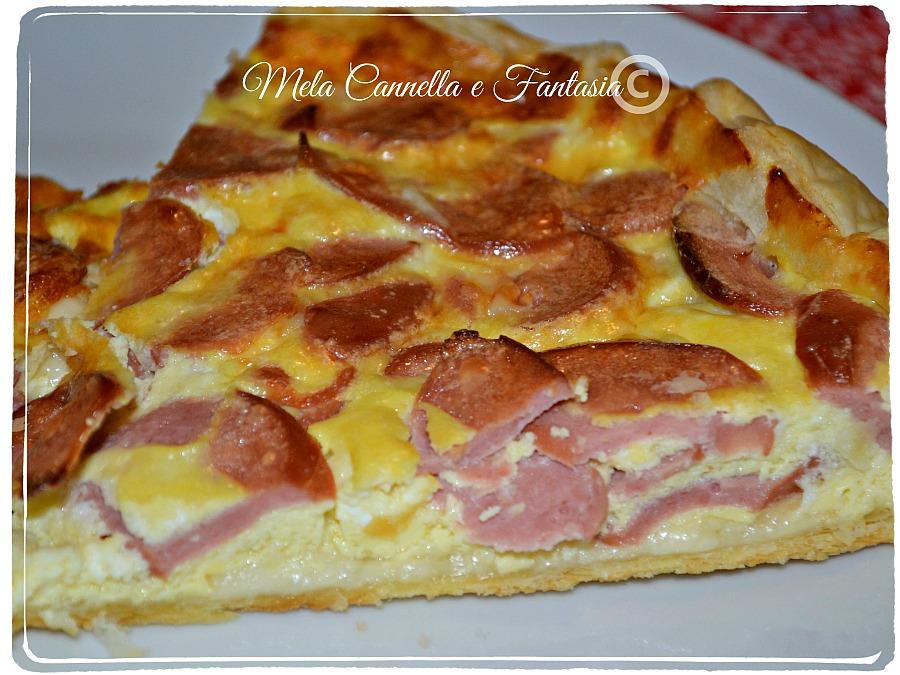 pizza rustica wurstel