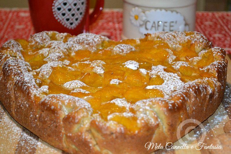 Torta Cuor di Pesche e amaretti