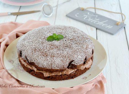 Torta Nutella e mascarpone - ricetta di famiglia facile e veloce