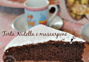 Torta Nutella e mascarpone (ricetta di famiglia)