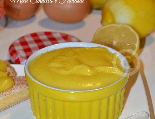 Lemon Curd (crema al limone per farcire dolci e torte)