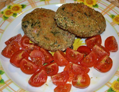 Polpette di Quinoa con spinaci, prosciutto cotto e provola (ricetta light)
