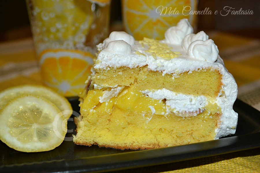 torta crema al limone