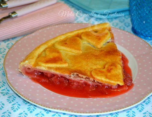 Strawberry Pie (Crostata di pasta brisèe con fragole fresche)