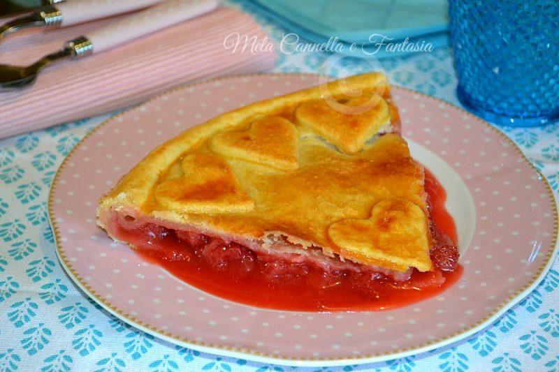 Strawberry Pie (Crostata di pasta brisèe con fragole fresche)