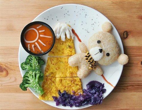 Samantha Lee e la sua Food Art