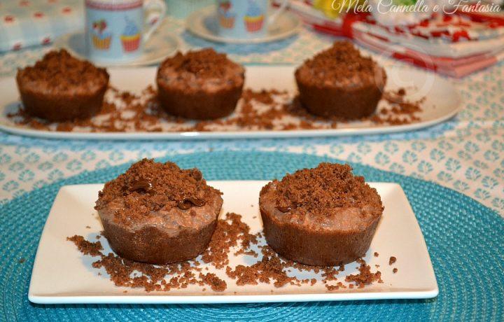 Tortini Kinder Bueno con crema di Nutella e mascarpone