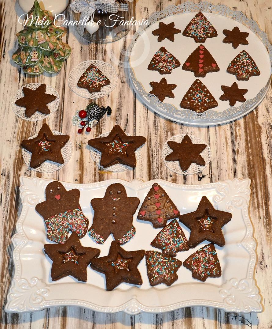 biscotti natale al cacao