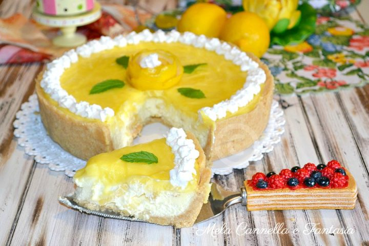 cheesecake lemon curd