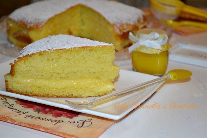 torta con crema