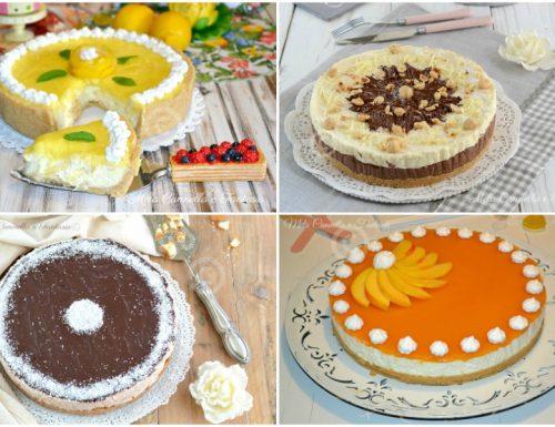 Raccolta Cheesecake senza cottura – ricette facili e gustose