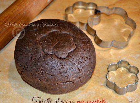 Frolla al cacao per crostate