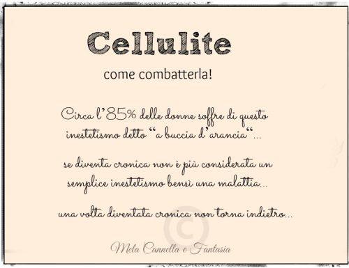 Cellulite, come combatterla!