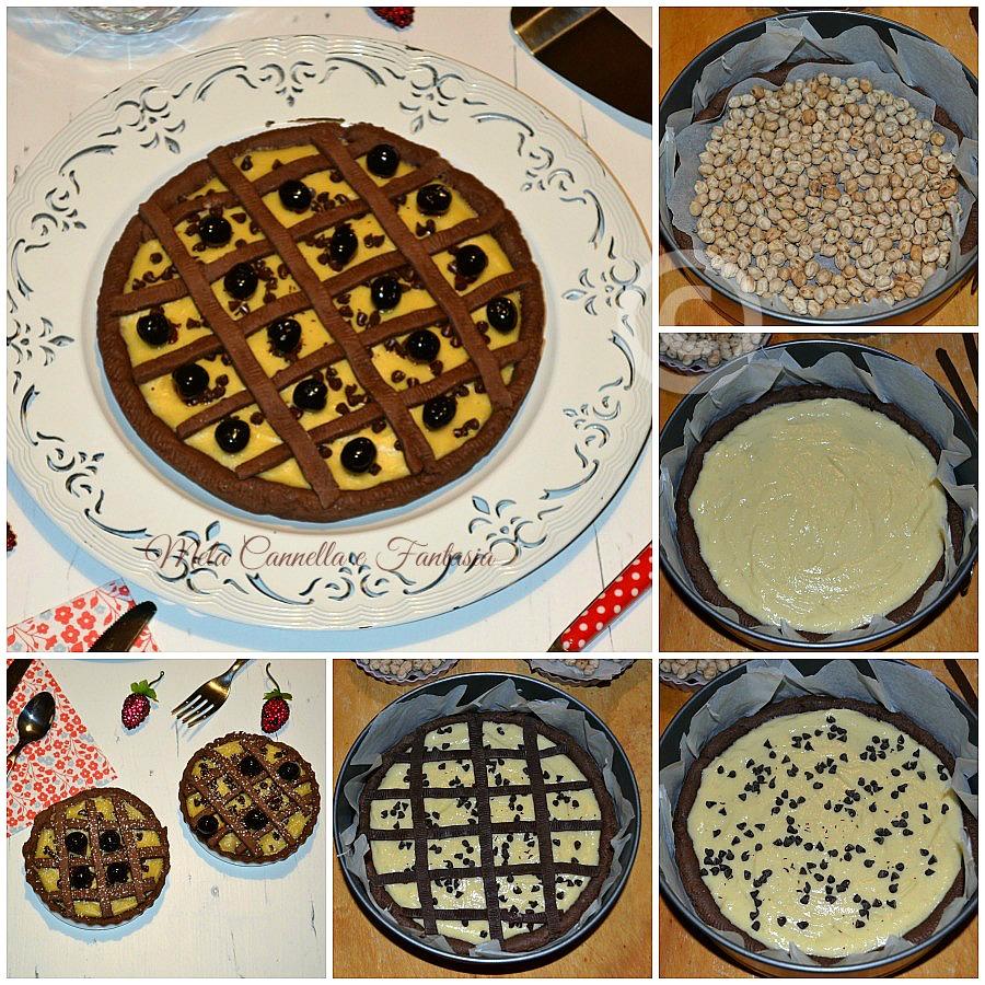tutorial Crostata crema e amarene