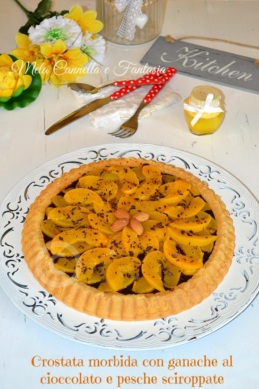Crostata morbida con frutta