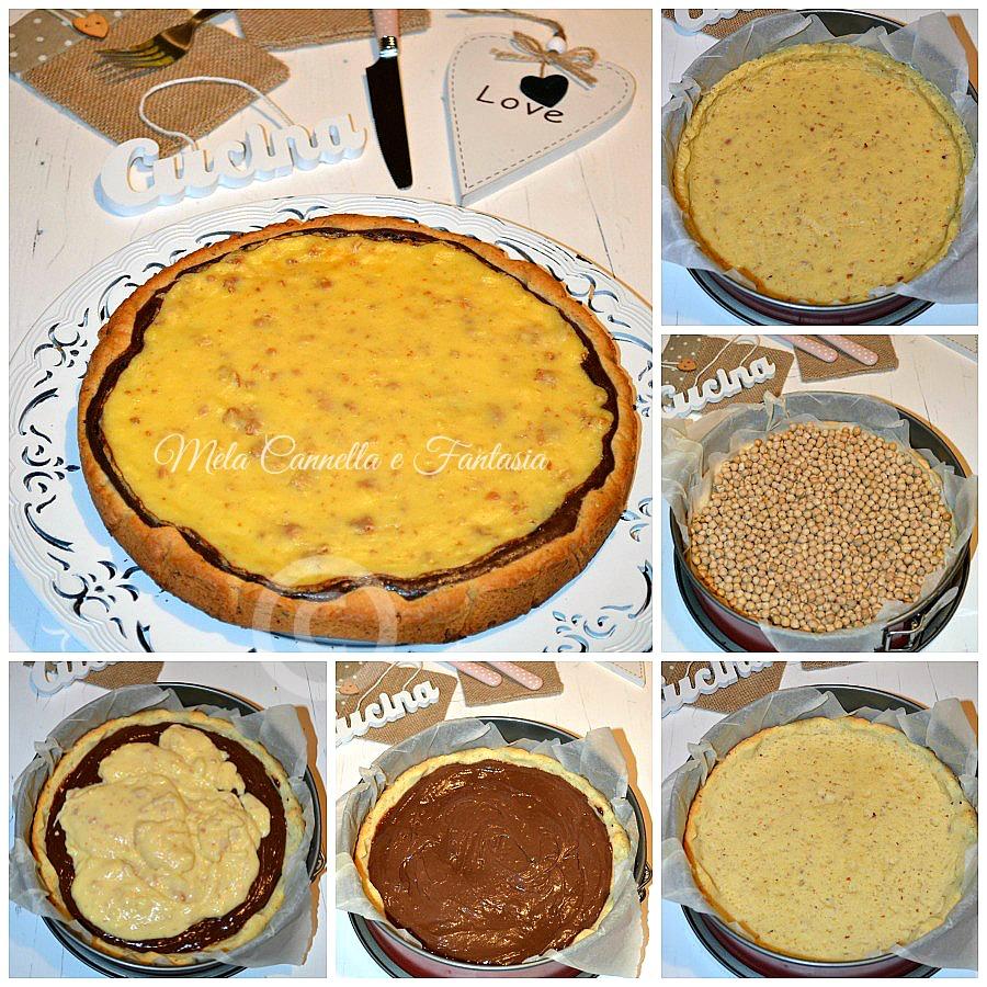 tutorial crostata bicolore