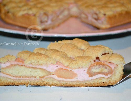 Crostata rosa con ricotta e Alchermes – ricetta facile