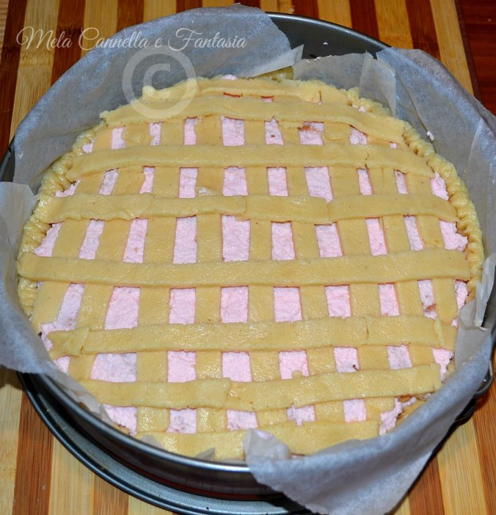 crostata rosa
