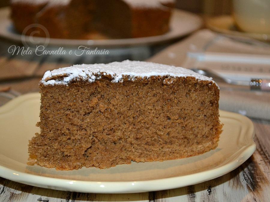 torta al caffè senza burro